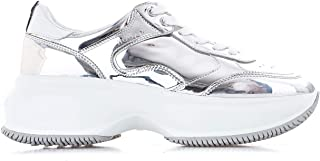 HOGAN Luxury Fashion Womens HXW4350BN51LME0351 Silver Sneakers | Fall Winter 19