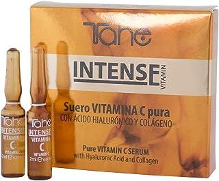 Tahe Intense Suero Lifting de Vitamina C de Acción Prolongada con Ácido Hialurónico y Colágeno, 5 x 2 ml