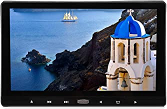 fo sa DVD Display Gaming Monitor 11.6 Inch Digital 1920 x 1080 TFT LCD Monitor Screen with External Headrest, 2 Channel AV...