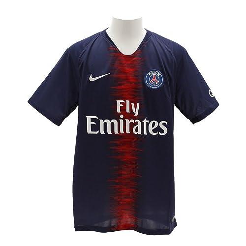 d0e29a5f5b54 Amazon.com  Nike Paris Saint-Germain 2018 19 Stadium Home Soccer Jersey  S S  Clothing