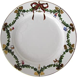 Royal Copenhagen Star Fluted/Xmas 1017456 Plate Flat 22 cm Porcelain Multi-Coloured