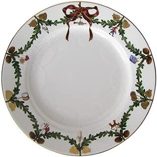 Royal Copenhagen Star Fluted/Xmas 1017456 Plate Flat 22 cm Porcelain Multi-Coloured