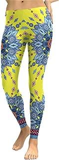 M-ONEZOU Leggings Women Colorful Mandala Flower Digital Print Woman Leggins Fitness Workout Legging Plus Size Mujer Pants