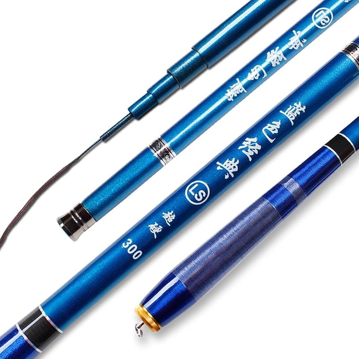 医療過誤机ハイジャック渓流竿 釣り竿hjuns-Wu 超軽量 超硬質高炭素超短ストリーム釣竿ミニ釣1.8M,2.1M,2.4M,2.7M,3M,3.6M,4.5M