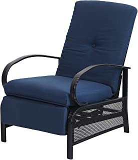 Best blue outdoor lounge chairs Reviews