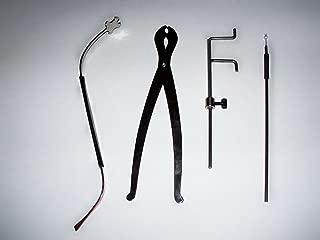 Violin Set of Sound Post Tools S Setter, Scissor Setter, Gauge, And Sound Post Retrieve VWWS