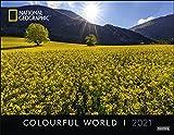 Colourful World Posterkalender National Geographic Kalender 2021