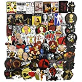 ONE Punch-Man Laptop Stickers 70Pcs Pack, Anime Cartoon Water Bottle Travel Case Computer Wall Skateboard Motorcycle Phone Bicycle Luggage Guitar Bike Stickers Decal