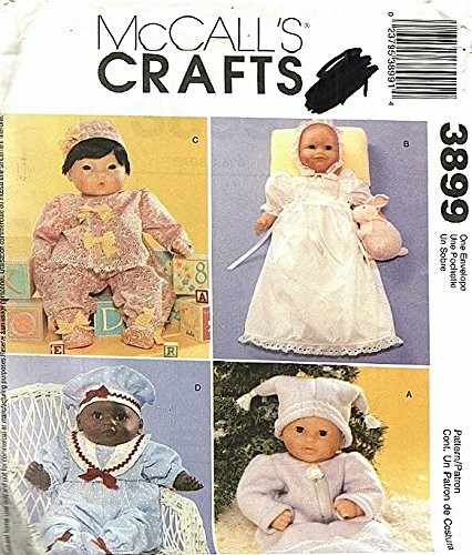 Christening Gown Baby Doll Clothes Sewing Pattern 3899 ; Size 8