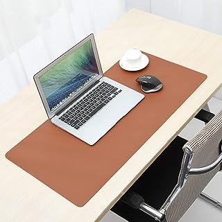 RANRANHOME Läder skrivbordsdyna, PU-läder vattentät överdimensionerad musmatta, vattentät skrivplatta för kontor och hem, ...