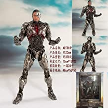 NEW hot 20cm Justice League Cyborg Victor Stone Action figure toys doll collection Christmas gift with box Collectible Toy
