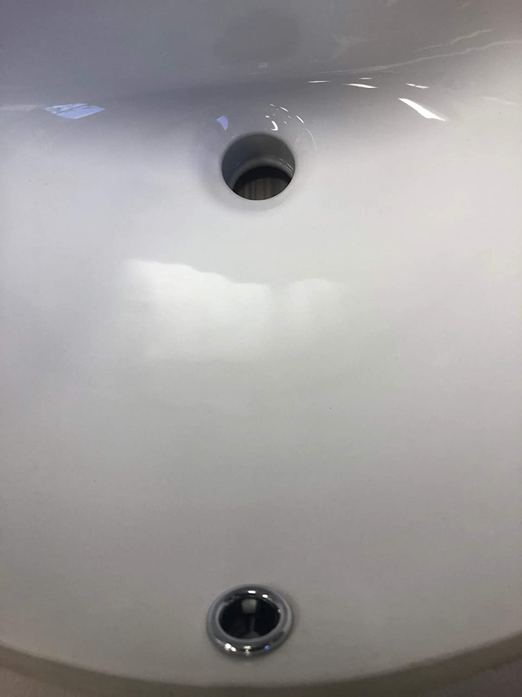 Buy Kingsman 17 5 Inch Durable Oval Undermount Vitreous Ceramic Lavatory Vanity Drop In Bathroom Sink Pure White 17 5 Inch Online In Turkey B079lzfcc3