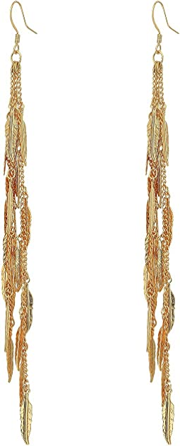 GUESS - Fringey Linear Earrings