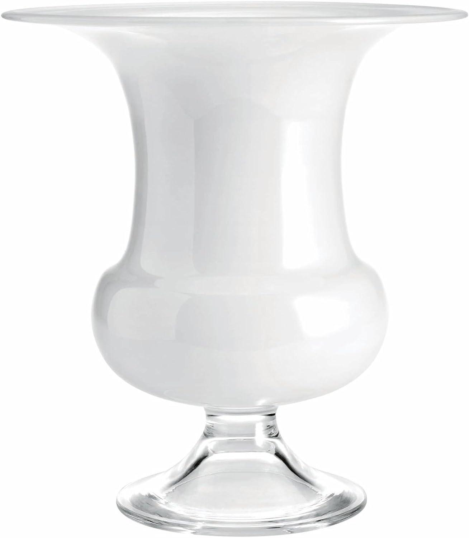 Holmegaard - Old English Vase, H 24 cm, wei