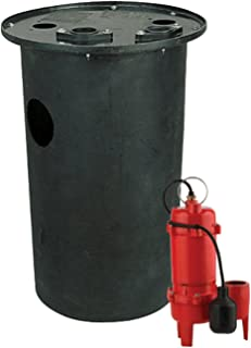 Red Lion RL-WCS50TA Cast Iron 1/2-HP 5600-GPH Sewage Pump with Tethered Switch