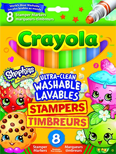 Crayola Stamper Markers, Shopkins