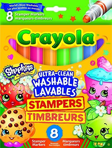 Shopkins - Estampadores, 8 Piezas (Crayola 58-8152)