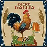 Cartexpo PL821 - Salvamanteles de Cristal, diseo de Cerveza Gallia