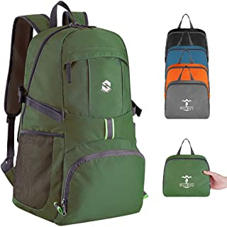 OlarHike Hiking Travel Backpack, Packable Lightweight Backpack for Men Women