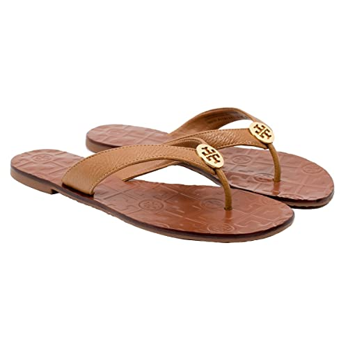71c8875bc56612 Tory Burch Thora Tumbled Leather Flip Flop Sandal