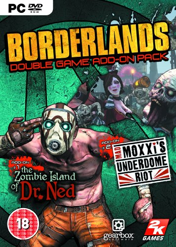 Borderlands Expansion: The Zombie Island of Dr Ned / Mad Moxxi's Underdome Riot (PC DVD) [Importación inglesa]