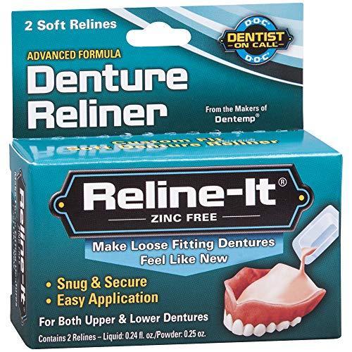 D.O.C. Reline-It Advanced Denture Reliner Kit