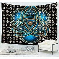 民族の動物の宇宙astrolabeタペストリーの壁掛け、ヒッピーボヘミアンのカーテンサイケデリックインディアンスタイルの毛布のための浴室寝室寮の装飾 A-150*130CM