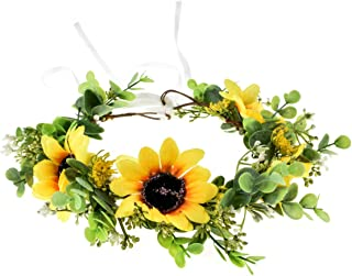 Best yellow flower crown Reviews