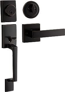 door lock and handle set