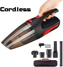 AUELEK Aspirador de Coche Sin Cable, 5000Pa Aspirador de