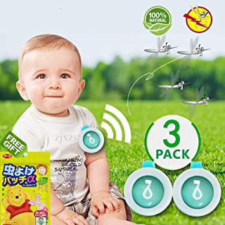 ShowDoo 100% Natural Plant Insect Bug Repellers 3 Pack, for Pregnant WomenToddler and Infants