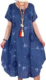 Women V-Neck Elegant Maxi Dress Split Hem Baggy Kaftan Long Dress