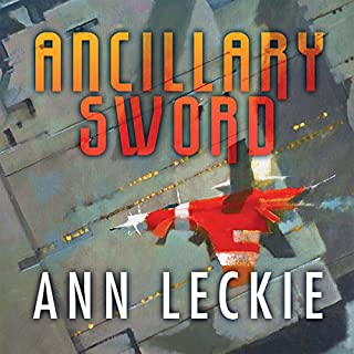 Ancillary Sword     The Imperial Radch series, Book 2              By:                                                                                                                                 Ann Leckie                               Narrated by:                                                                                                                                 Adjoa Andoh                      Length: 11 hrs and 43 mins     174 ratings     Overall 4.6