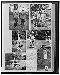 HistoricalFindings Photo: Council Rock,Oyster Bay,Theodore Roosevelt Jr,Long Island,Quentin,1923,Children