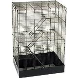 You & Me Rat Manor Habitat, 16.5' L X 22.5' W X 32' H, 16.5 IN, Black