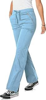 Women's Blush Flare Leg Drawstring Scrub Pant-Hype