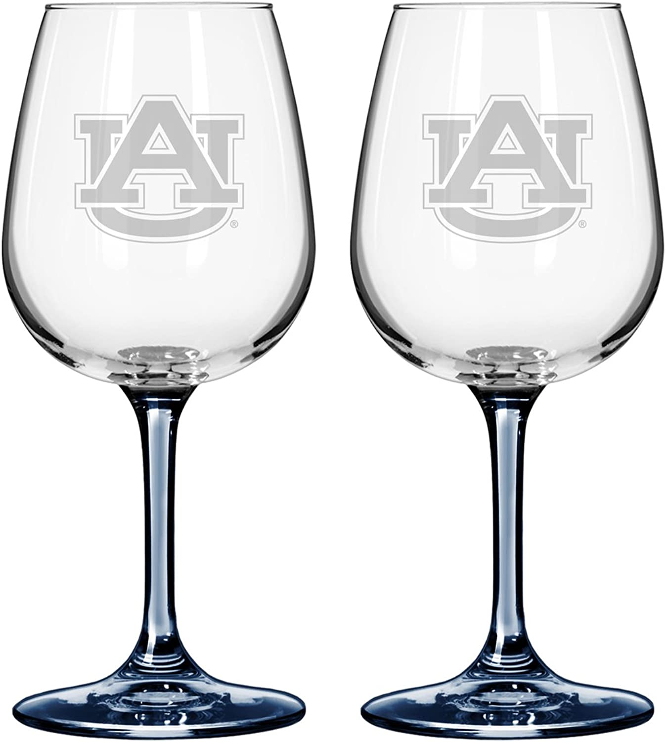 NCAA Auburn Tigers Boelter Wine Glass (2-Pack)