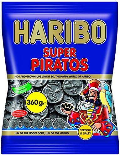 Haribo Super Piratos, 6er Pack (6 x 360 g)