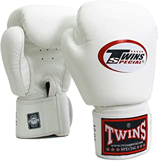 Twins Special Boxing Gloves Leather MMA UFC Muay Thai Kick Boxing K1 Karate Training Punching Gloves