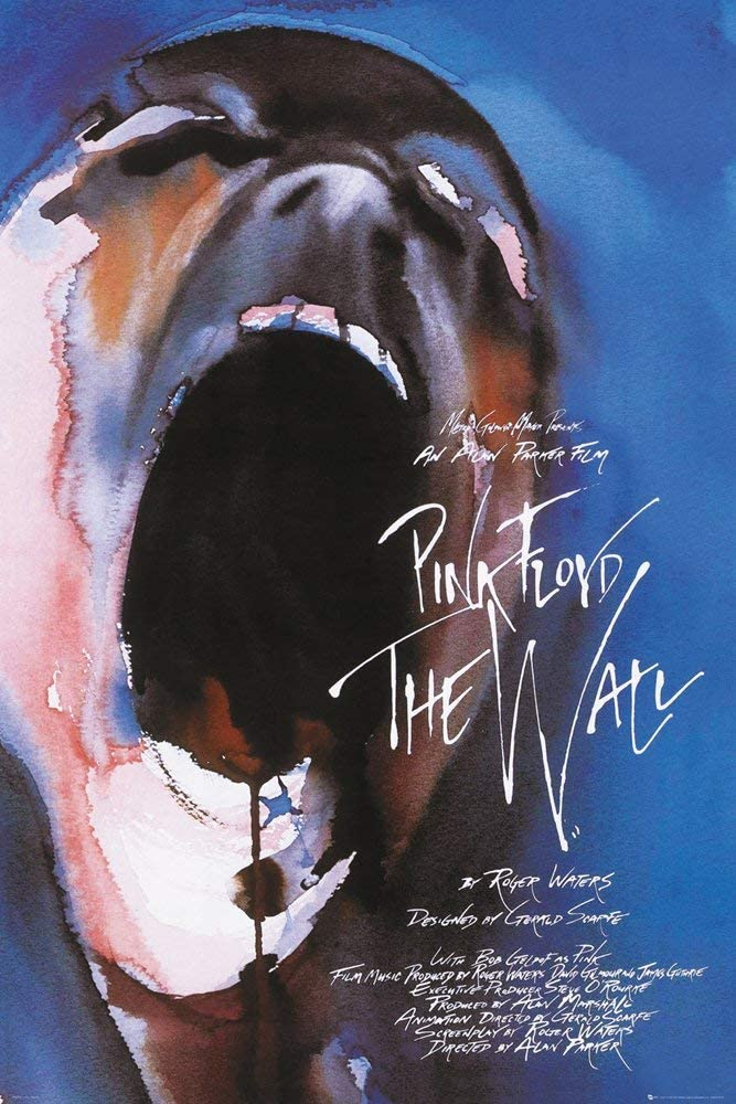 Pink Floyd The Wall Film Poster Print by Roger Waters (24 X 36) (Unframed)