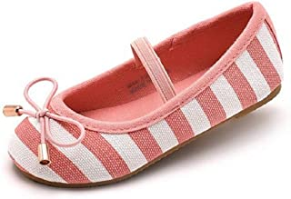 611aa7257d5 KIDS BRON Bridal Ballet Flats Mary Jane School Shoes(Toddler Little Girls)