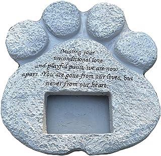 WNGGADH 1 cadre photo pour animal de compagnie - Pierre tombale - Avec cadre photo - Personnalisable