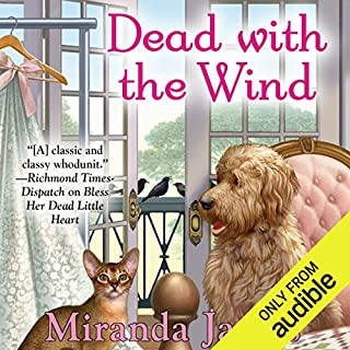 Dead with the Wind                   By:                                                                                                                                 Miranda James                               Narrated by:                                                                                                                                 Jorjeana Marie                      Length: 6 hrs and 54 mins     139 ratings     Overall 4.5