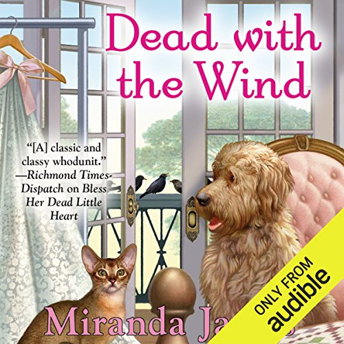 Dead with the Wind audiobook cover art