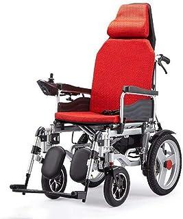 Inicio Accesorios Silla de ruedas eléctrica para personas mayores Discapacitados Inteligente Ultra portátil Durable Material de la silla de ruedas eléctrica Material de tubería de acero Motor doble