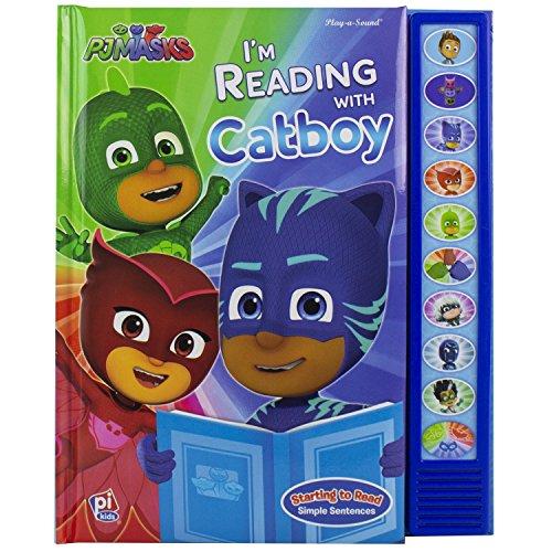 PJ Masks - I'm Ready To Read with Catboy Sound Book - PI Kids (Play-A-Sound)
