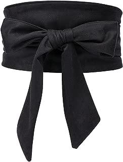 Shengweiao Women's Self Tie Wrap Around Obi Waist Band Cinch Boho Belt