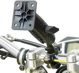 BuyBits Originele Uitgebreide Fietsstuur U Bolt Base met AMPS Adapter voor Garmin Zumo XT