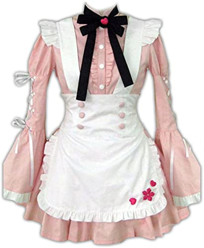 Dream2Reality Maid Culture Cosplay Kostuem - Maid Dress 14th Ver - Snowflake of Sakura X-Large
