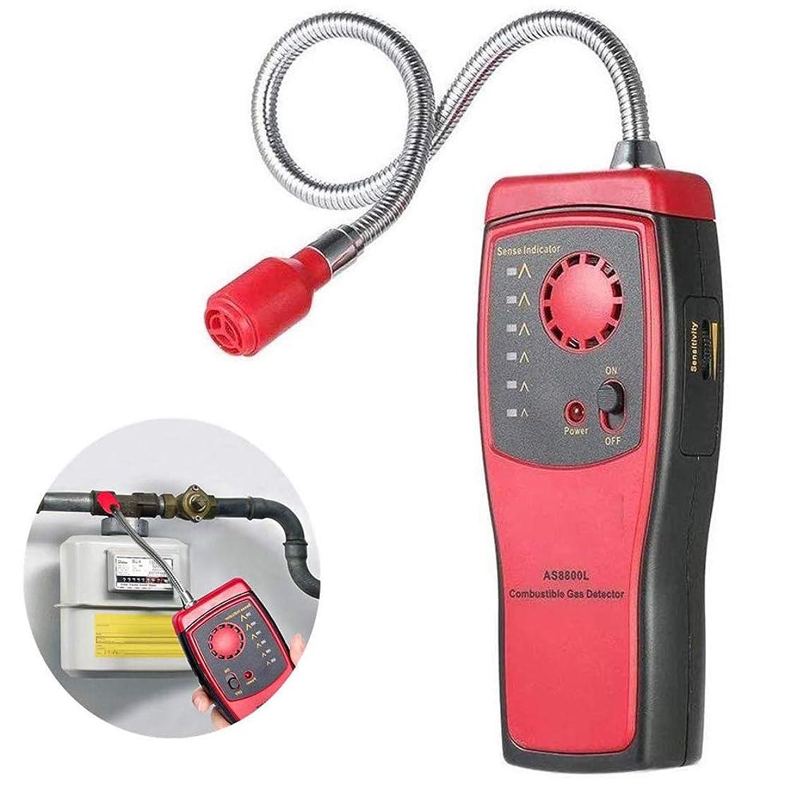 知性ウィンクセイはさておきガス検知警報、可燃性ガス漏れ検出器、ポータブル可燃性ガス検知器天然ガスリークテスターアナライザ、サウンド警告と可燃性ガスのSniffer